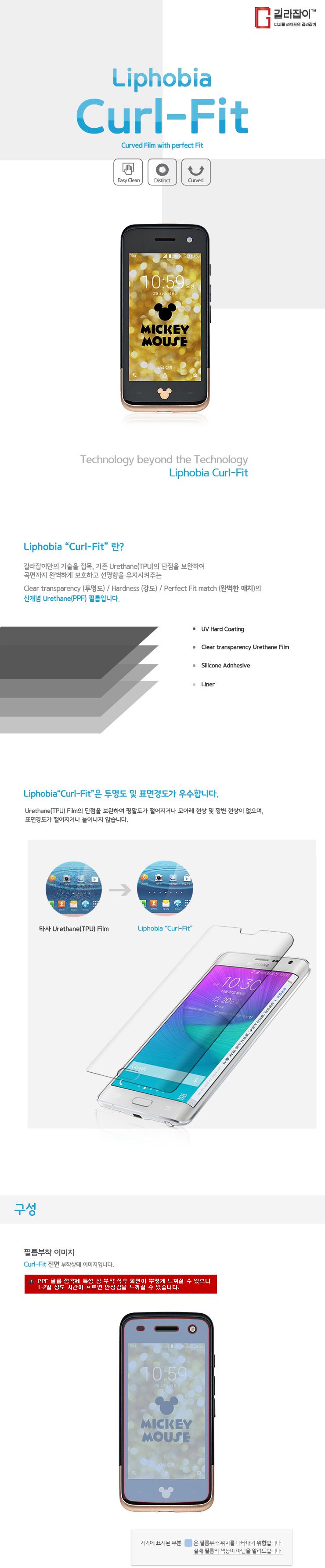 SKT 쿠키즈 미니폰 컬핏 풀커버 액정보호필름 (2매입) - 길라잡이, 12,800원, 필름/스킨, 기타 스마트폰