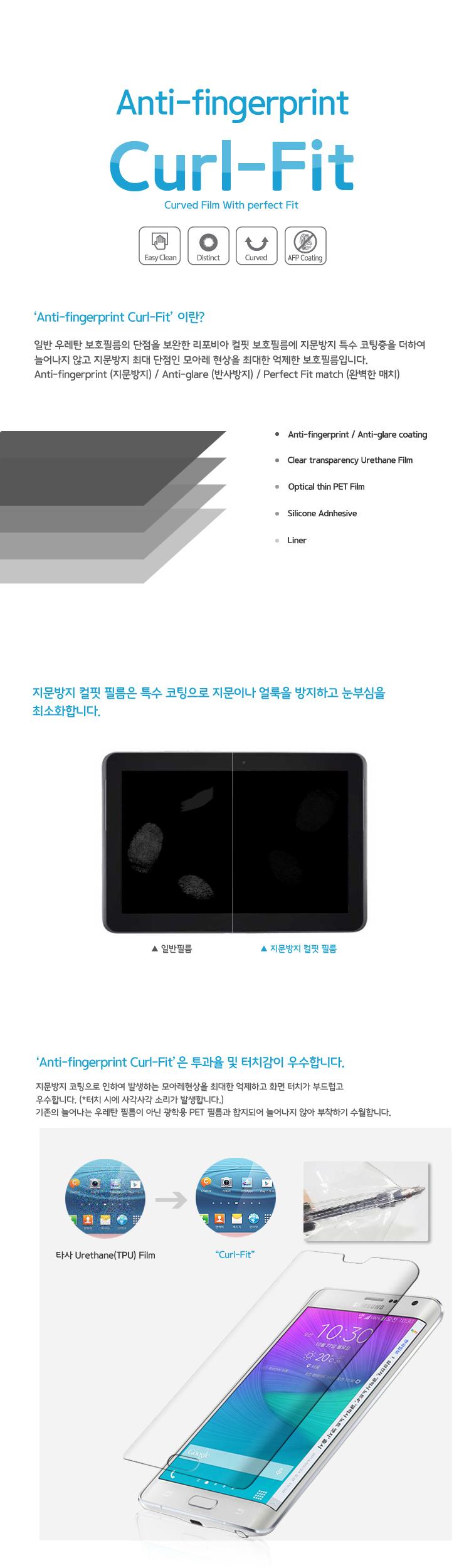 화웨이 스마트워치 GT2 42 컬핏 지문방지 풀커버 액정보호필름 2매 - 길라잡이, 11,200원, 스마트워치/밴드, 스마트워치 보호필름
